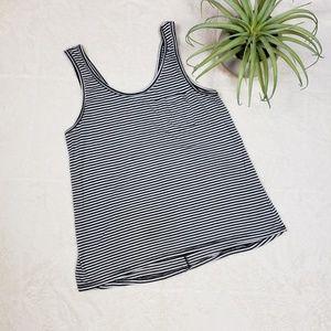 L.O.L. Vintage black and white striped tank top
